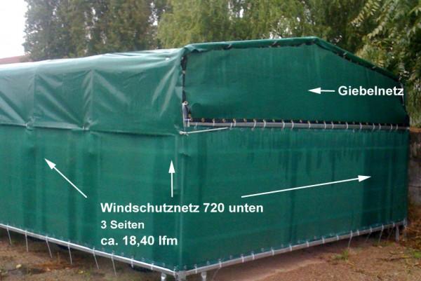 Windschutznetze komplett für Weideunterstand 720