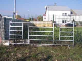GEC 400/2 Weidezaun 4m mit 2 Fressplätzen
