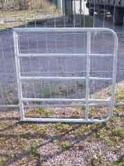 WTAC 120-160 Weidetor ausziehbar, Höhe 110 cm
