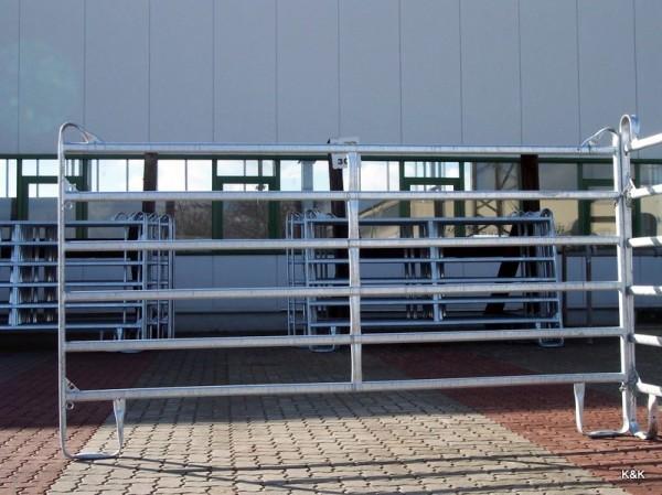 GEC 300 Weidezaun Pferde Panel, 3m x 1,6m